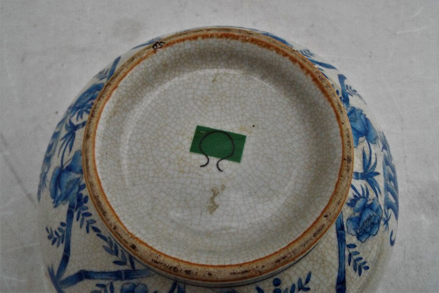 Antique GOOD ANTIQUE CHINESE PORCELAIN HAND PAINTED BOWL.