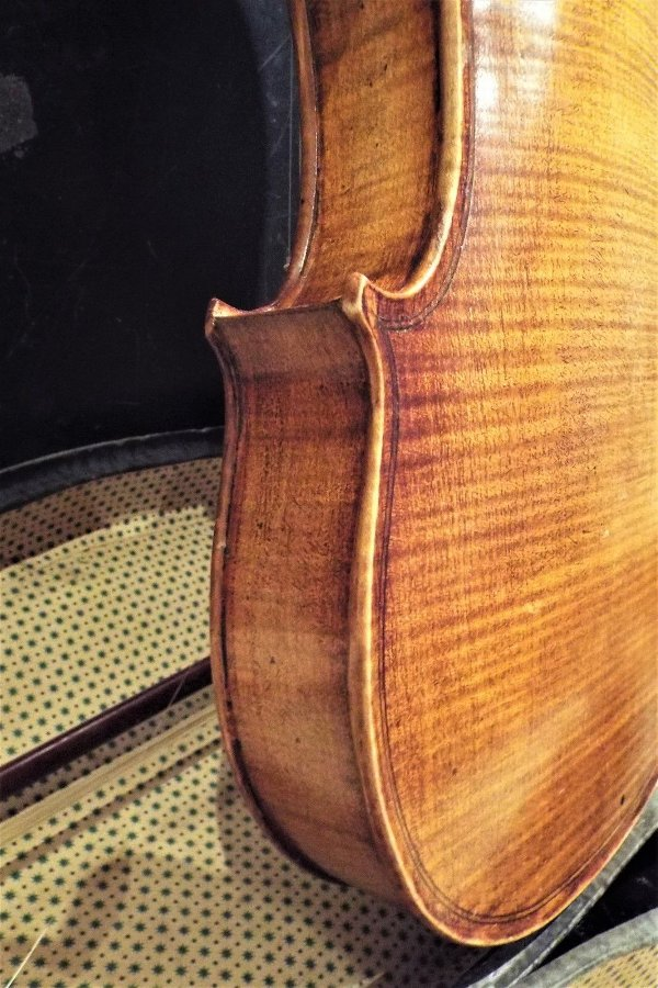 Antique 4/4 Old Italian Violin Fine Full Size case and bow Sounds Amazing