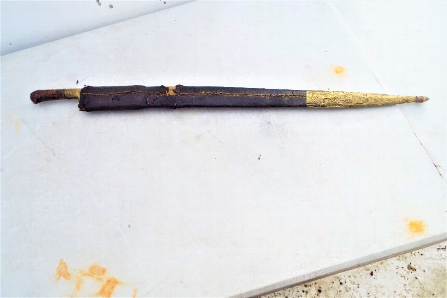 Antique North West Frontier's tribesman's sword