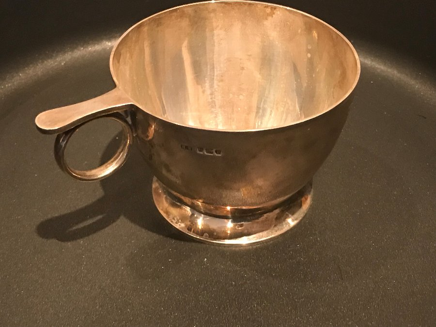 Antique Solid silver Cup