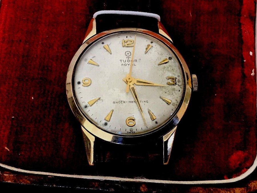 Rolex Tudor Regal Gentleman's 9ct Gold Cased Watch