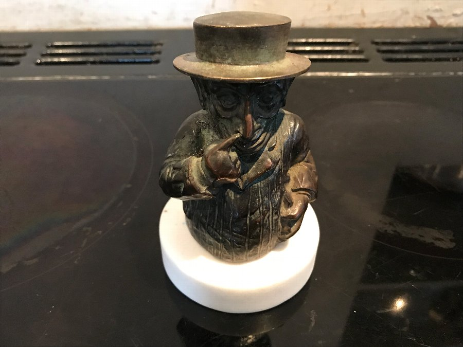 Superb Victorian taper figure