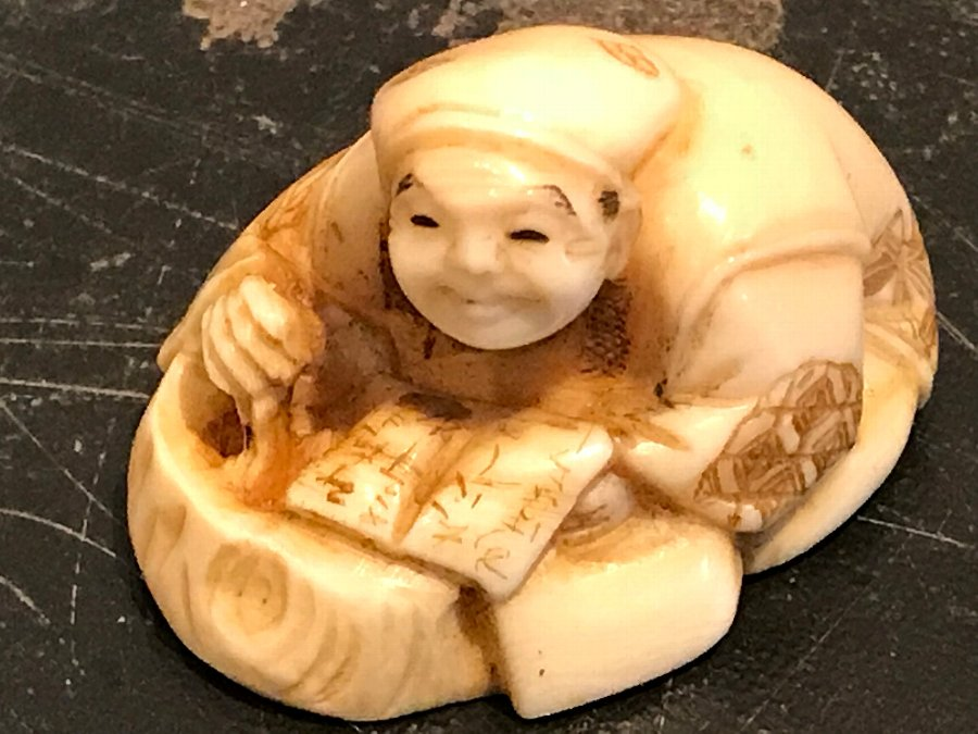 Japanese carving of netsuke