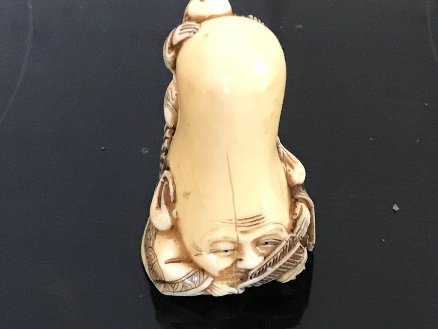 Netsuke Japanese ivory carving