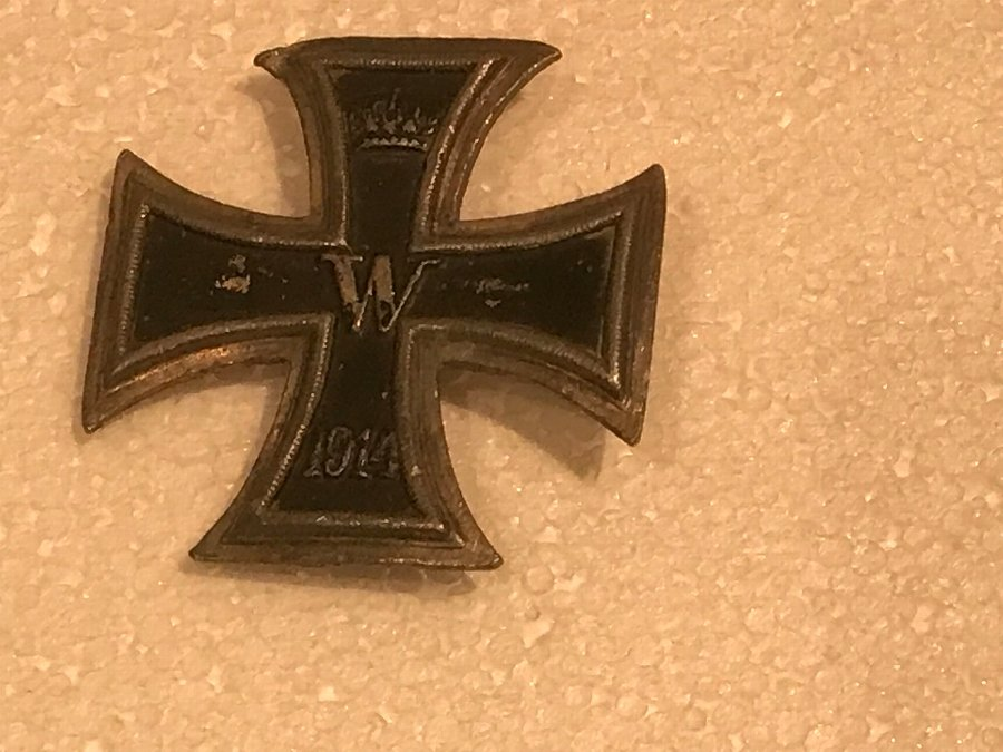German 1ww iron cross 1st class