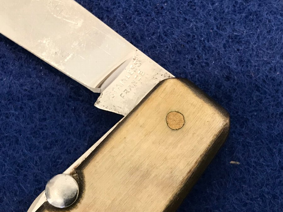Antique Bone handles vintage  pockets knife