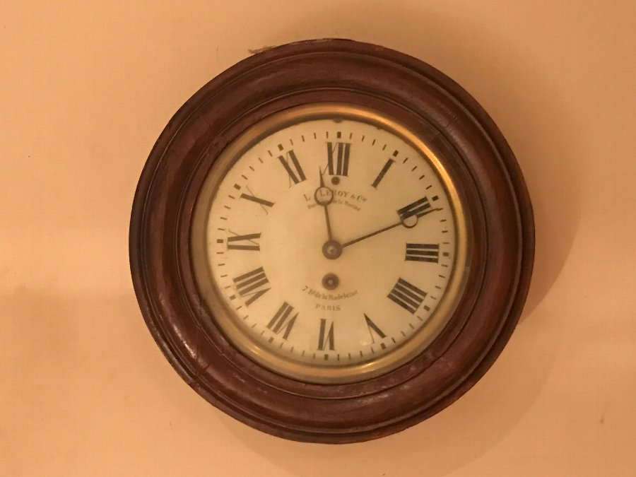 You can buy this now rare French Leroy Of Paris marine wall clock