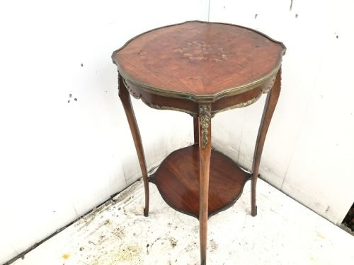 Beautiful  French Kingwood side table