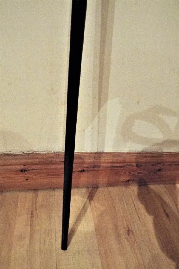 Antique Sword stick with silver mounts and Horn handle