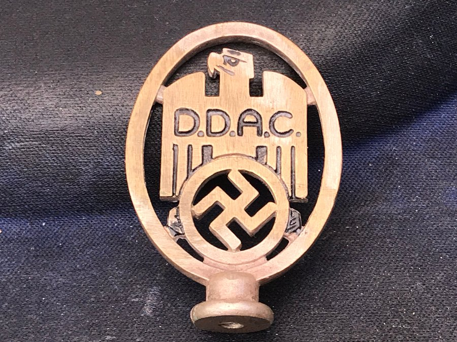 2ww German Staff car badge