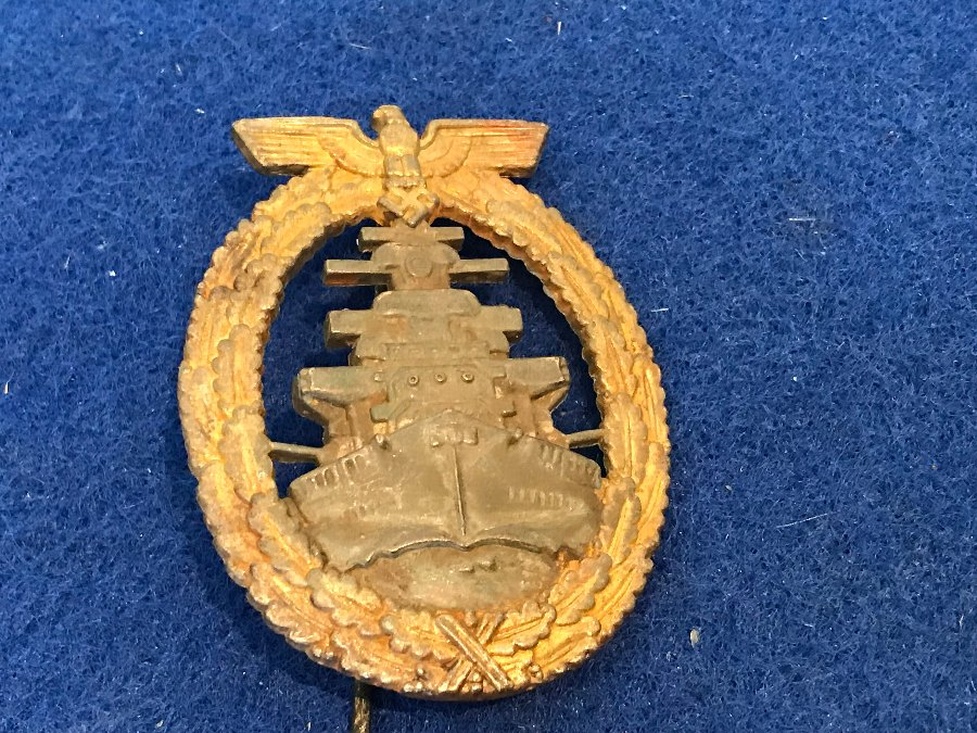 2ww German Sailors Capital ship Medal