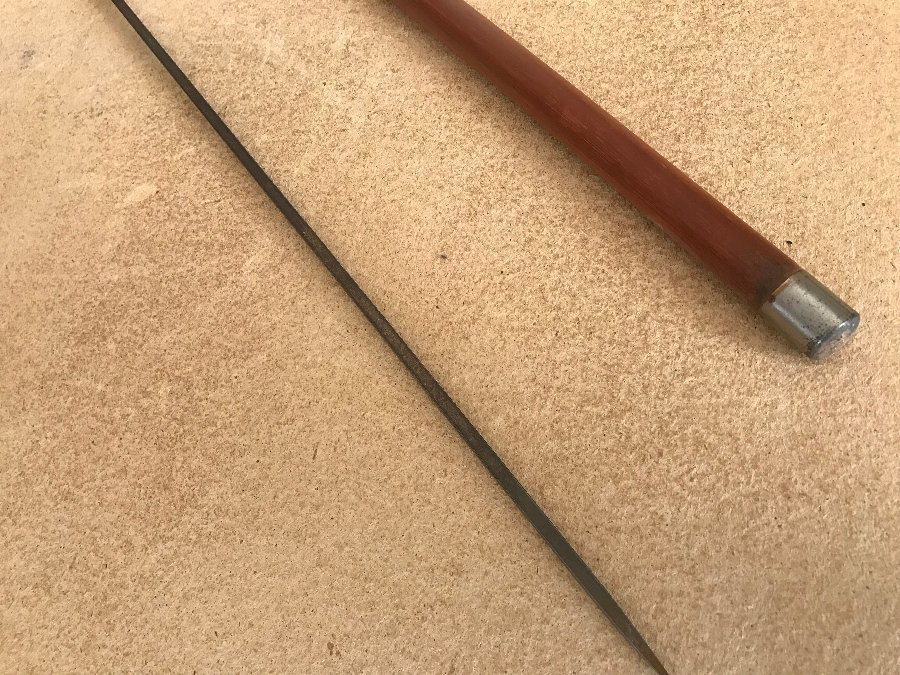 Antique Gentleman's walking stick come sword stick