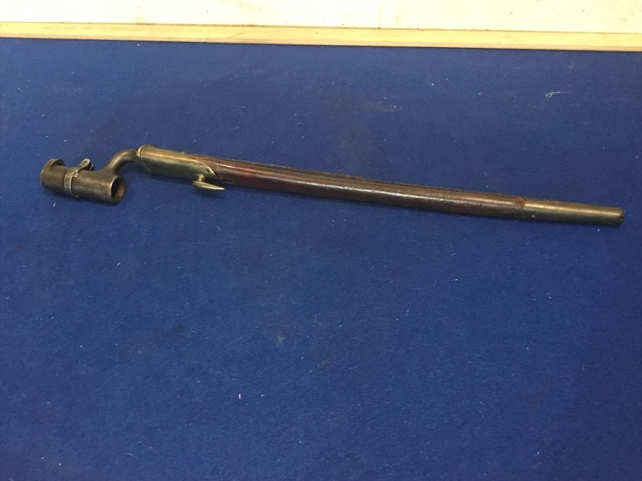 19th century British army Soldiers Bayonet and scabbard