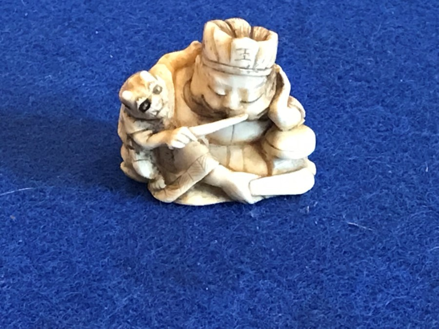 Japanese ivory carved netsuke