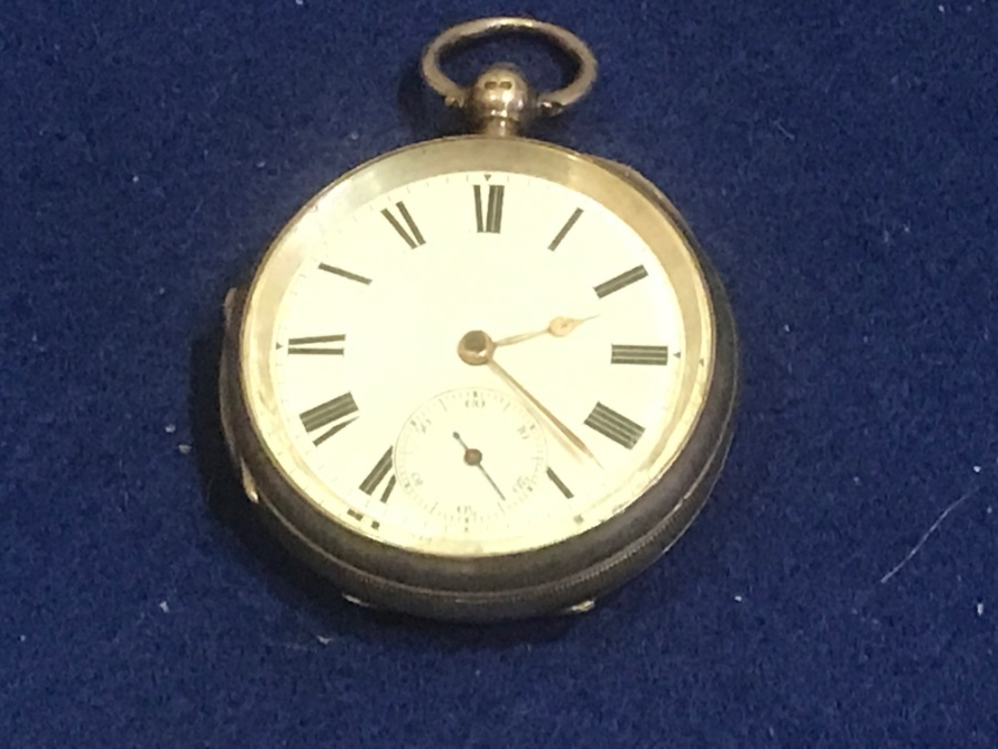 Coventry solid silver pocket watch
