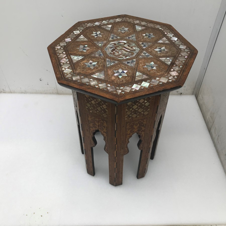 Middle Eastern Islamic occasional table/Sewing table