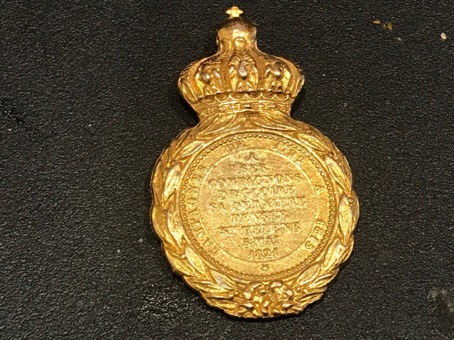 Napoleon medal French Military