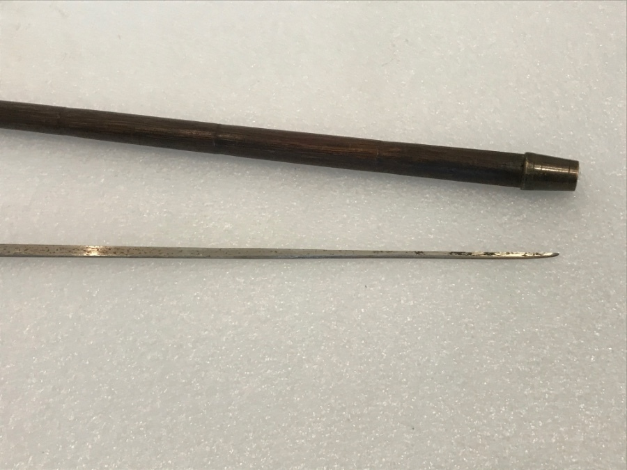 Antique Gentleman's walking stick sword stick