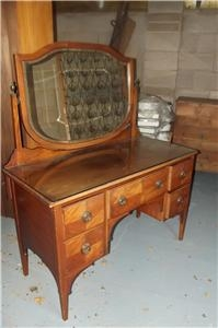 DRESSING TABLE MAHOGANY EDWARDIAN SUPERB ITEM SUPERB CONDITION