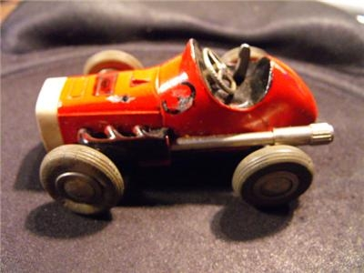 SHUCO TOY MECHANICAL POST WAR CAR FANTASTIC ITEM-- GB10