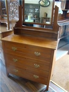 DRESSING TABLE IN SATINWOOD TOP QUALITY SINGLE MIRRORED