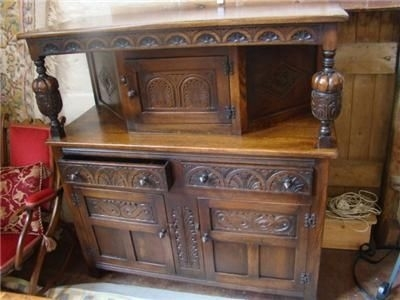 OAK BUFFET TOP QUALITY REAL WOOD WELL MADE ITEM