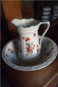 JUG AND BOWL EDWARDIAN SUPERB ITEM SUPERB CONDITION