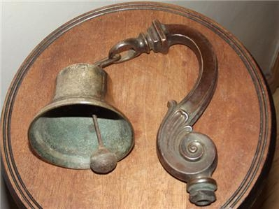 BELL SHOP VICTORIAN KEEPERS ALARM--SGB3