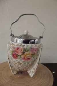 Art deco Biscuit barrel