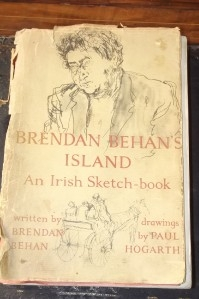 Brendan Behan's Island written by Brendan Behan drawings by Paul Hogarth.