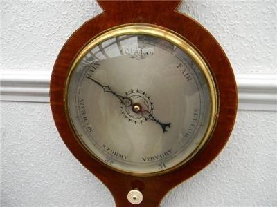 Antique BAROMETER/THERMOMETER SUPERB WORKING ITEM