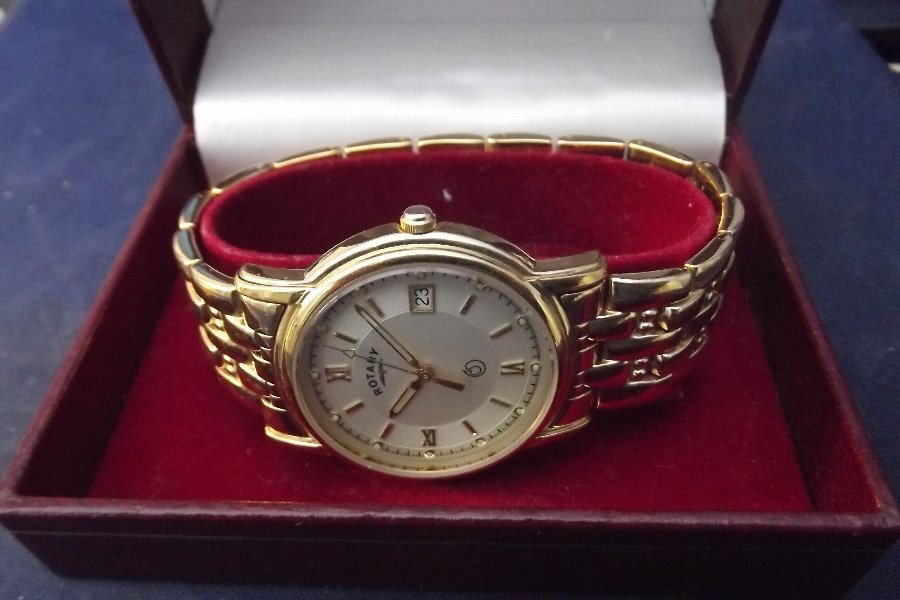 Wristwatch mans Rotary dress watch