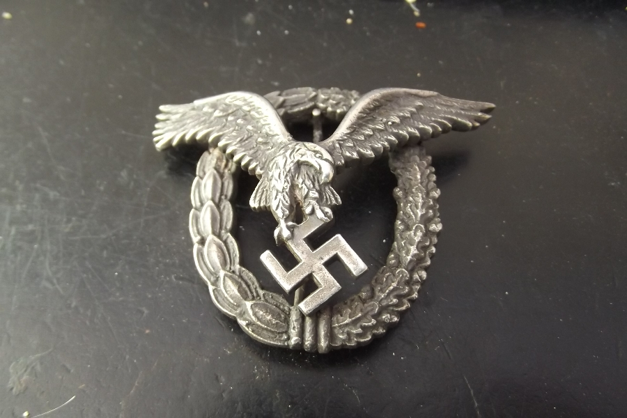 Antique 2ww German flyers badge genuine item
