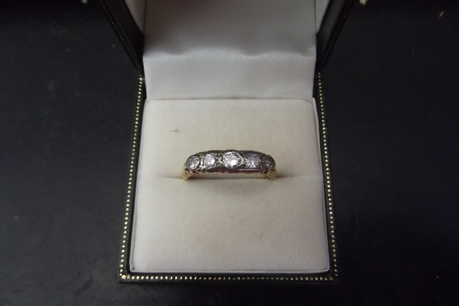 1ct Diamond  18ct ladies ring