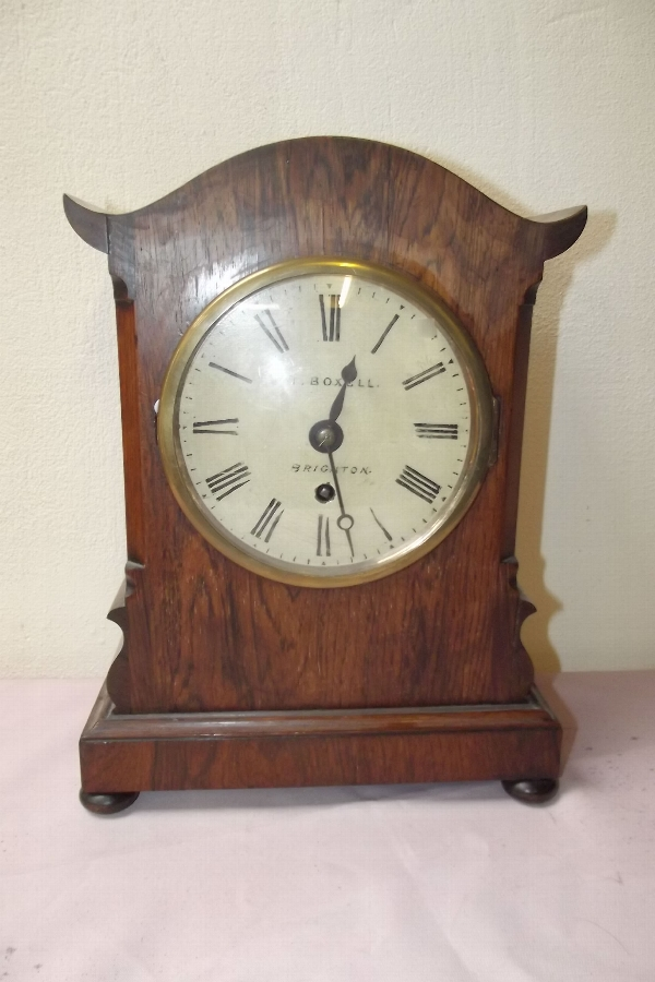 Clock Bracket Fusse Rosewood case Regency
