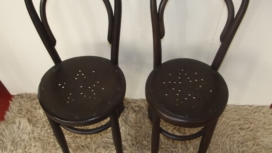 Antique Chairs pair of childrens correction chairs