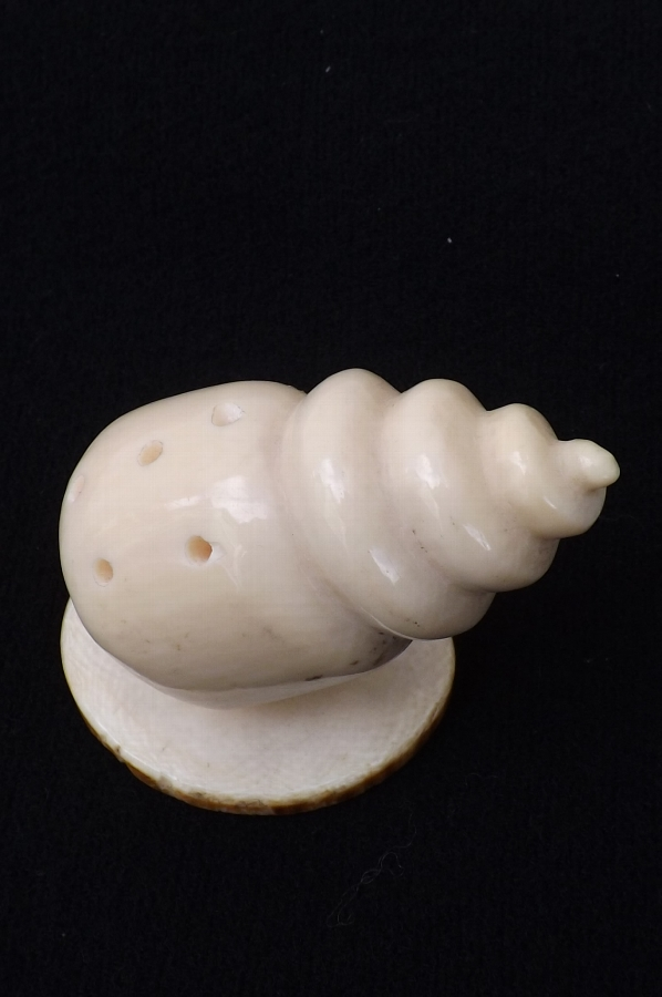 Ivory Hat Pin Holder Victorian