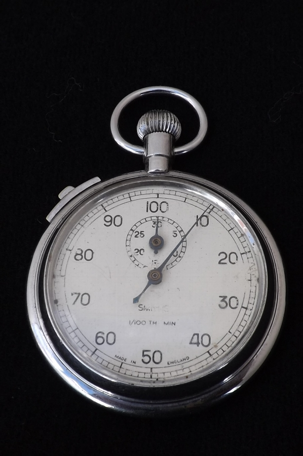 pocket stop watch Smiths vintage and working.