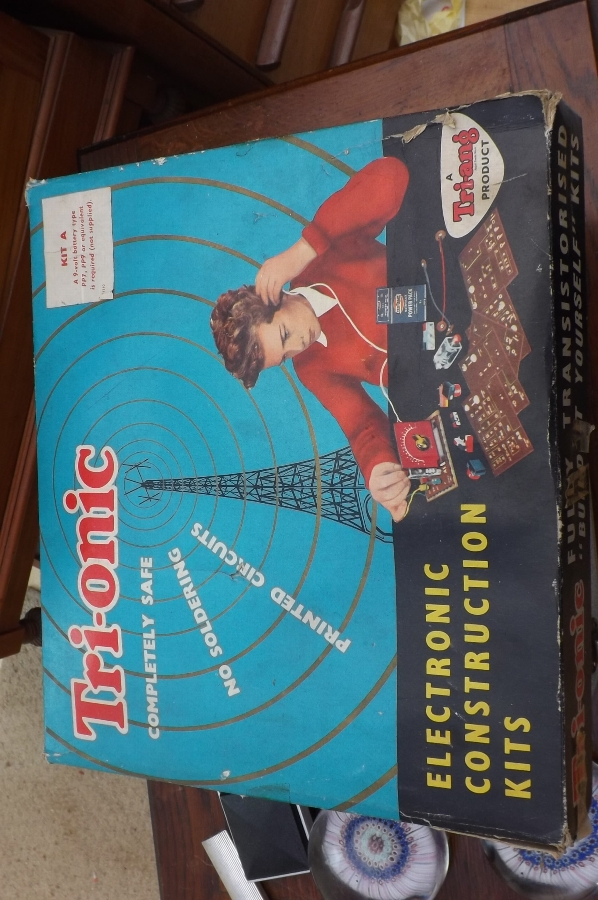 Triang Electronic Construction kit Model A comes in original box 1960's. B31