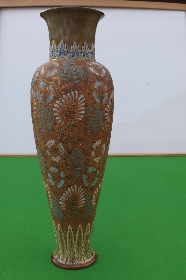 Royal Doulton Vase large in size Slaters Patent early 20th century.B32