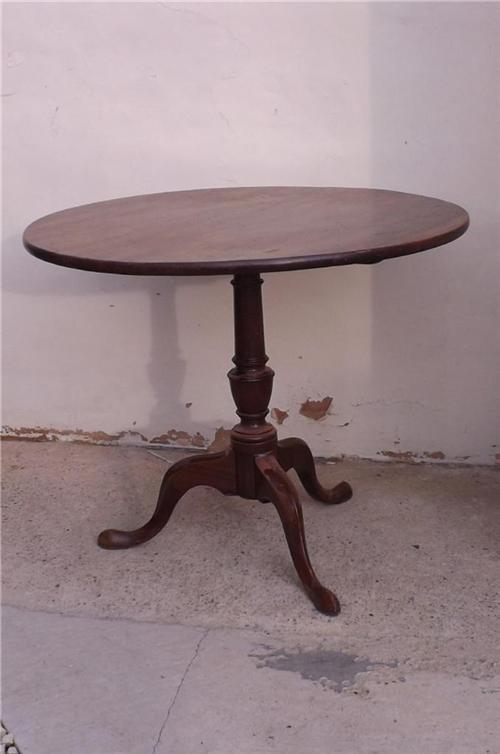 Table Mahogany Tripod tilt top Georgian circa 1780