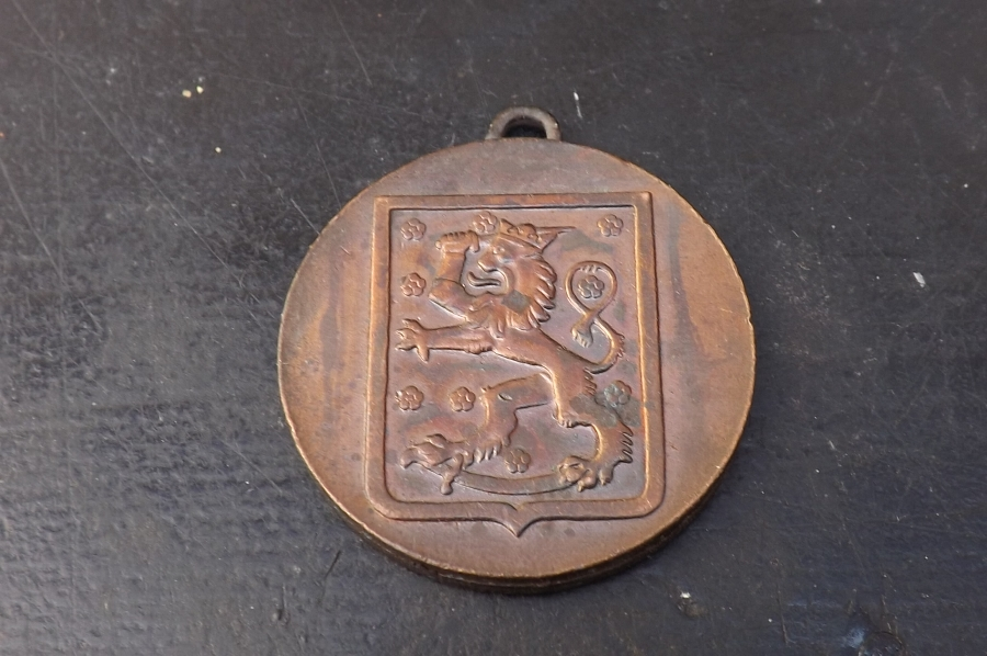 Antique Finland Victory medal over the Russian hordes 1940