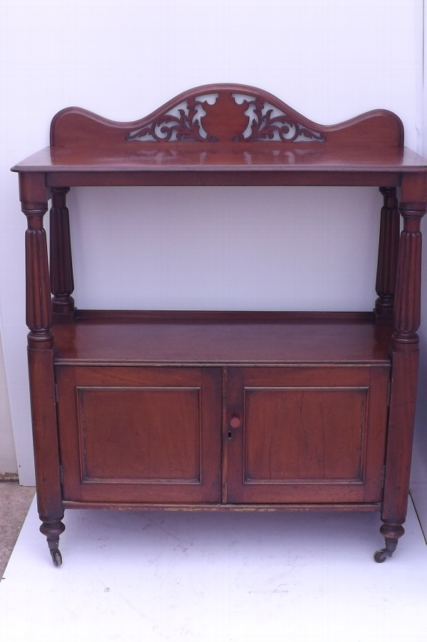 Regency Dumb Waiter mahogany
