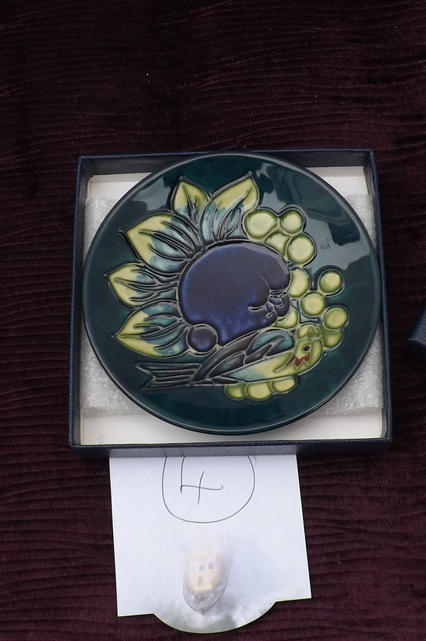 Rare Charger by Moorcroft circa 20th century.Comes in own original box. CB