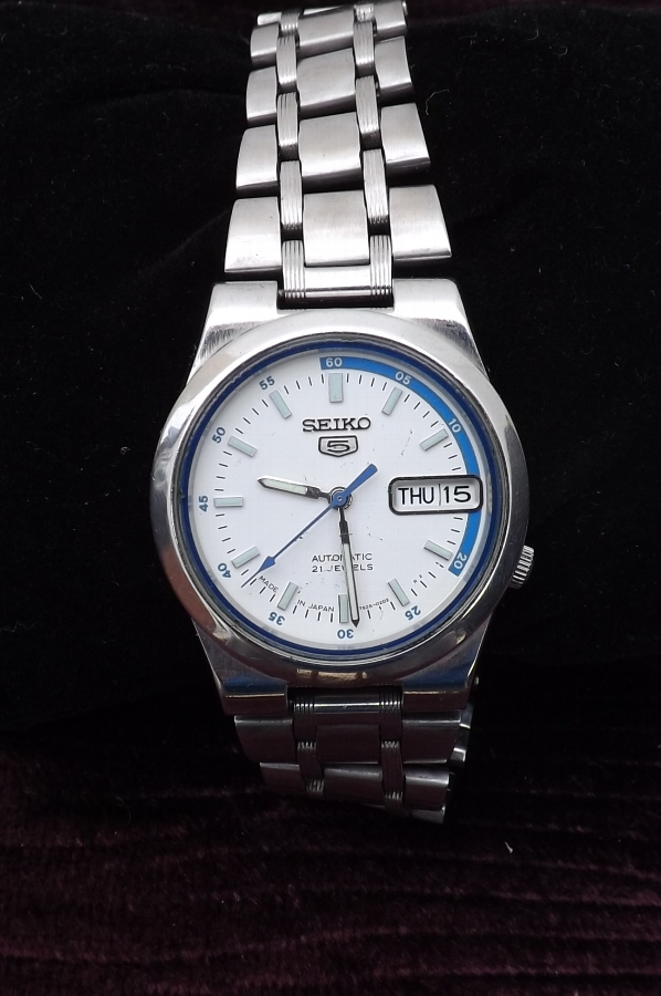 Seiko Mans wristwatch automatic rare watch condition good