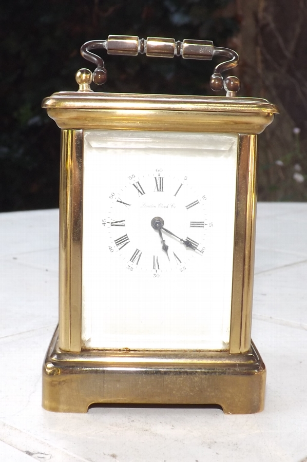 Carriage Clock in minature quality item in working condition. CB
