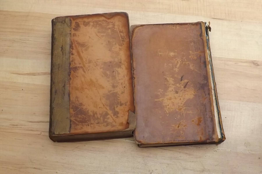 Law books rare 1st editions, leather bound circa 1830-40
