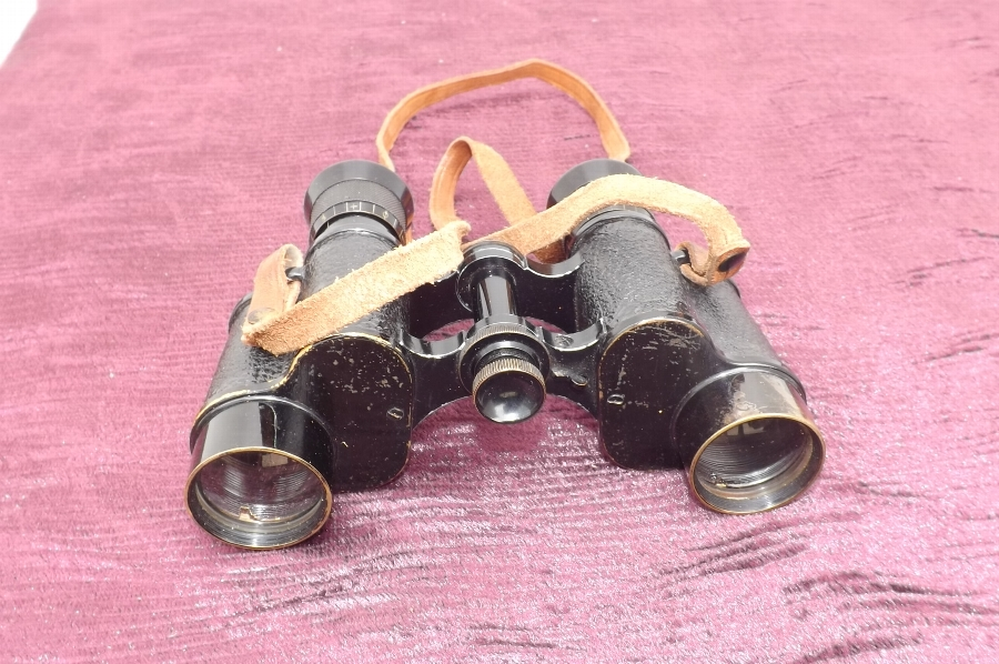 2ww American cased binoculars Bausch & Lomb Rochester NY