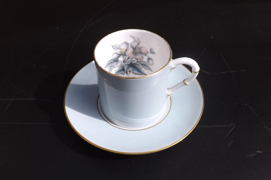 Royal Worcester coffee set of four