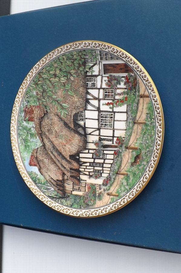 Royal Worcester plate B30